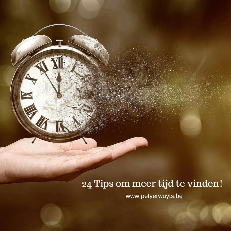 24 Tips om meer tijd te vinden!